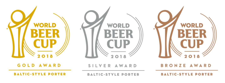 Word Beer Cup Award Logos